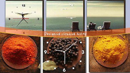 Originálne dizajnové obrazové hodiny do každého bytu či kancelárie.