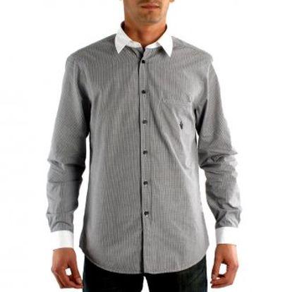 S dlouhým rukávem ROBERTO CAVALLI CLASS mužimodrý - bílý100 % bavlna1 vnitřní kapsana druhou, logo značky, tlačítko zip, DŮLEŽITÉ: Italská Velikost