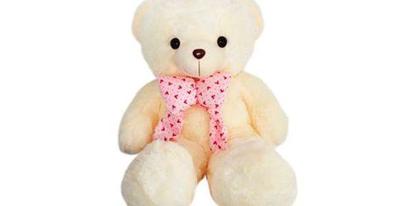 Plyšový bílý medvěd 100 cm