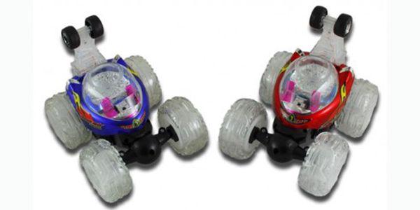 259 Kč za akrobatické autíčko twister! Je schopno jízdy v různých pozicích, otáčí se až o 360 stupňů. Dokonalé auto pro vaše děti. Populární jak u děvčat tak chlapců.