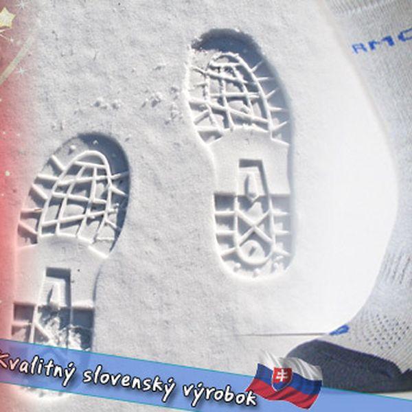 Extrémne nízke teploty vás v našich thermo ponožkách nikdy neprekvapia.