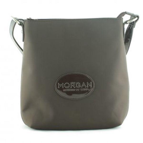 Taška přes rameno MORGAN ženyčokoládanylon - polyester1 oddělenízip, logo značkyvnější kapsy: 3cm29 x 26 x 1