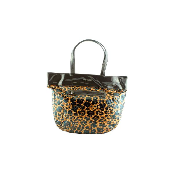 Kabelka MORGAN ženyčokoláda - oranžovýsyntetický - polyester1 vnitřní kapsazip, vzor, logo značkyvnější kapsy: 3cm49 x 34 x 14