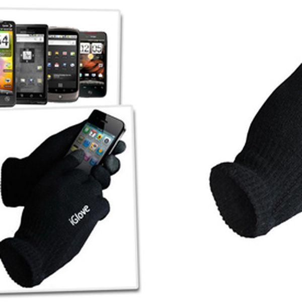 Rukavice iGlove pro dotykové telefony