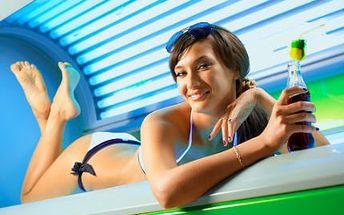 100 minut v soláriu! Získejte zdravé opálení po celý rok. Dopřejte si sexy bronzovou pokožku na celém těle!