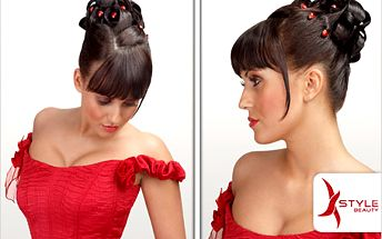Okouzlete okolí nádherným účesem! Kadeřnická péče z X-Style Beauty.