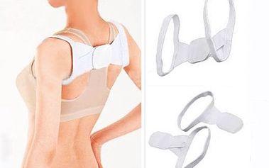 Podpora zad pro lepší držení těla - bílá a poštovné ZDARMA! - 20431