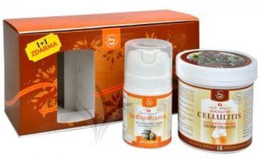 Bojujte s celulitidou zdravě. Herbamedicus Cellulitis 250 ml + Dermorevital 50 ml zdarma