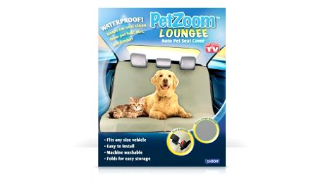 Pouhých 249 Kč včetně doručení za ochrannou psí deku do auta! Deka PETzoom Loungee ochrání zadní sedadla vašeho vozidla od špinavých tlapek a chloupků domácích mazlíčků!