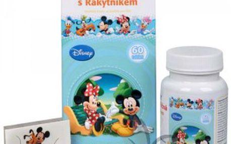Hlíva ústřičná s rakytníkem Mickey 60 tbl Simply You Imunit . + tetování Disney ZDARMA AKCE