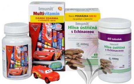 Simply You Imunit Hlíva ústřičná s Echinaceou 60 tob. + Imunit Multivitamín CARS 30 tbl.