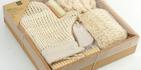 Koupelnový dárkový set Relax baleno v dárkové krabici s mašlí. Ideální dárek, který potěší a nikoho neurazí.
