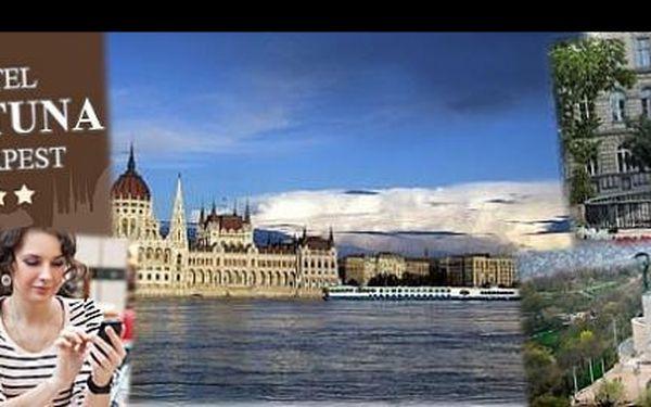 Seznamte se s Budapeští! Ubytování na 3 dny pro DVĚ osoby, snídaně a 3hodinová prohlídka města s průvodcem jen za 1800 Kč! Nejlepší cena na trhu!