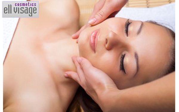 349 Kč za 80 – 120minutové kompletní kosmetické ošetření obličeje a krku v Ell visage cosmetics.