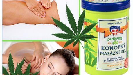 Konopný masážní gel od českého výrobce, který maximálné uleví Vašemu tělu!!! Dopřejte si skvělý relax!