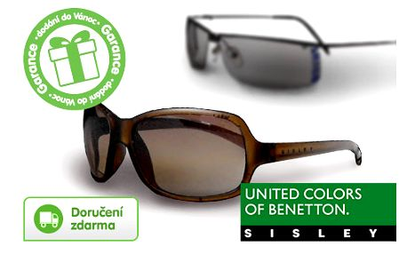 Sluneční brýle Benetton a Sisley -79% – 7 modelů, doručení je zdarma