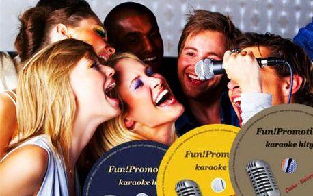 Studiové karaoke nahrávky! DVD se kterým si zazpíváte jako s opravdovou kapelou!
