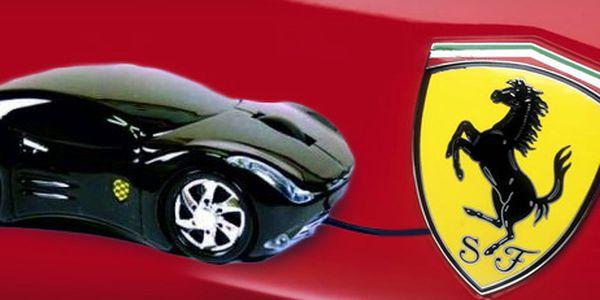 USB myš ve tvaru Ferrari! Fáro pro malé i velké raubíře!