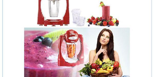 Smoothie mixér - vyrábějte si 100% zdravé, čerstvé a velmi levné smoothies nebo frashes doma!!!!