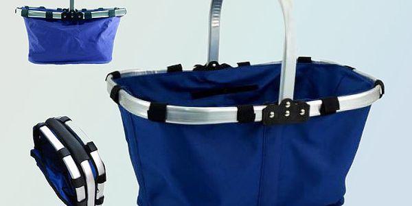 Praktický skládací košík na nákup i na piknik