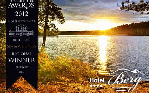 4* neomezené wellness u Máchova jezera – 3, 4 nebo 6 dní s polopenzí pro dva, bazén, sauna, pára a fitness