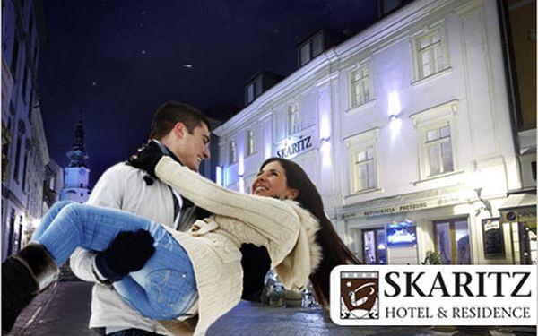 Objevte luxus v srdci Bratislavy! 3 dny pro 2 v nádherném 4* hotelu Skaritz.