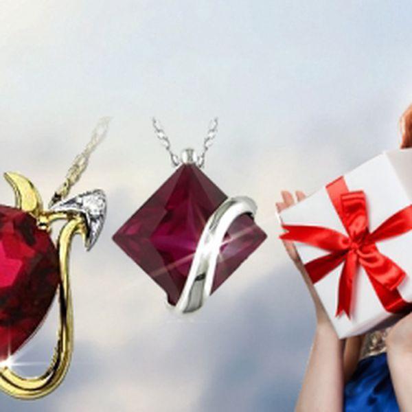 Luxusní šperky Swarovski Elements! Elegantní vánoční dárek jen za 249 Kč! Řetízek s přívěskem! Na výběr ze čtyř variant! Se slevou 50%!