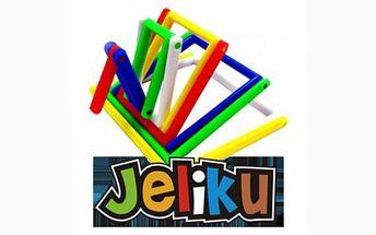Dětské 3D puzzle JELIKU jen za 95 Kč! Jeliku je snadné na hraní, ohýbání, otáčení tam a zpět, vytváření zajímavých a vzrušujících tvarů! Udělejte radost svým dětem !