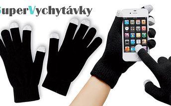 Zimní dotykové rukavice pro snadné ovládání vašeho telefonu i v té největší zimě jen za 139 Kč s HyperSlevou 54 %! Volejte a smskujte bez omezení i v mrazech!