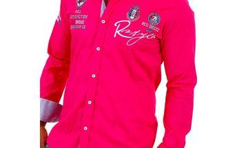 Pánská košile Redbridge fuchsiová