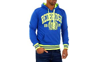 Pánská mikina Redbridge modro-žlutá S