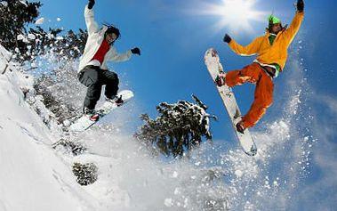 Týden na horách i se Silvestrem! Báječná polopenze, děti do 6 let zdarma, blízký ski areál!