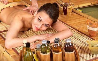 Mix 4 masáží v 60 minutách! Čokoládová, aromaterapeutická, medová či klasická masáž!
