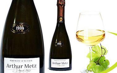 Luxusní šumivé víno Arthur Metz! Vhodné na Vánoce, Silvestra nebo jiné slavnostní příležitosti. Ideální jako dárek pro vaše blízké!