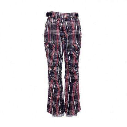 Dámské zimní kalhoty značky Nugget v černé barvě se vzorem