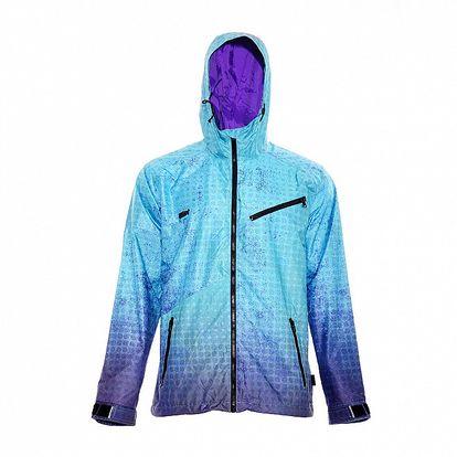 Pánská streetová bunda značky Nugget v tyrkysové barvě