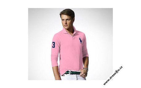 Atraktivní pánské polo triko věhlasné značky Ralph Lauren.