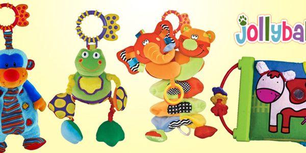 Interaktivní hračky Jolly Baby pro novorozence
