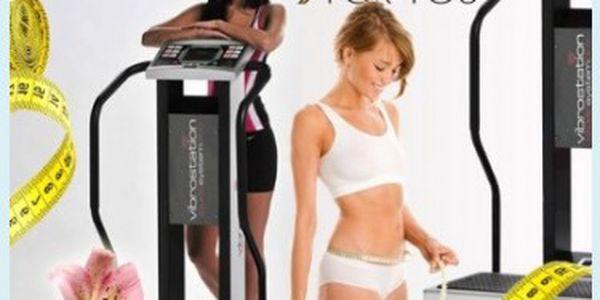 30 minut cvičení na profesionální vibrační plošině Vibrostation za 50 Kč! Přijďte po Vánocích zhubnout kila z cukroví bez námahy.