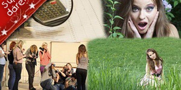Dárkový poukaz - kurz fotografování - darujte fotografický zážitek!