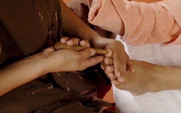 Thajská masáž chodidel a lýtek - spojení masáže, reflexní terapie a relaxace + PARAFÍNOVÝ zábal rukou. Skvělý zážitek za skvělou cenu 220 Kč v Chomutově.