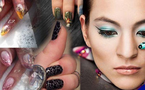 Kompletní modeláž gelových nehtů, nebo doplnění gelu včetně zdobení se slevou 65%!!!Každá žena si může dopřát mít dokonalé nehty.