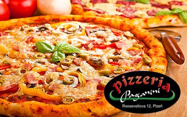 Dvě pizzy z kvalitních italských surovin