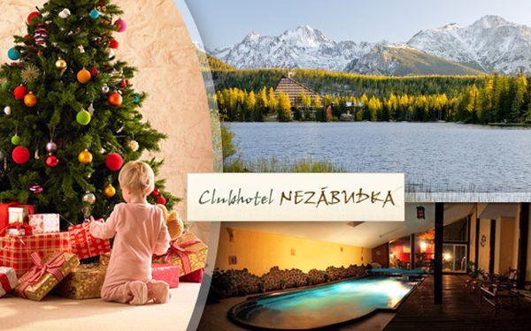 Zasnežené Vianoce v Tatrách. Prežite najkrajšie sviatky v roku na horách.