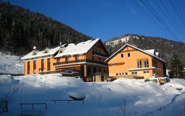 Slovenský ráj v zimě pro DVA na 5 dní s wellness