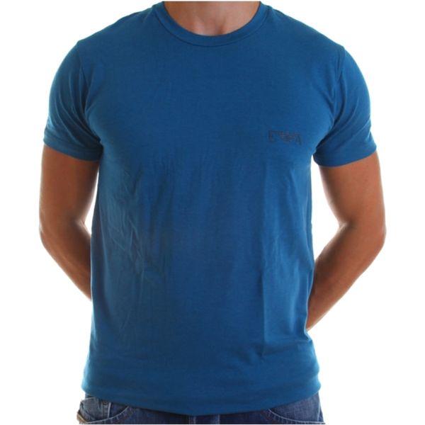 Pánské tričko Armani modré