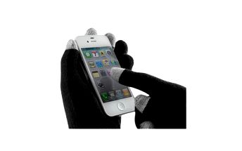 Rukavice pro dotykové displeje jen za 139 Kč. Super tip na dárek, který vás zahřeje a dokonce s ním budete ovládat telefon a další vaše přístroje.