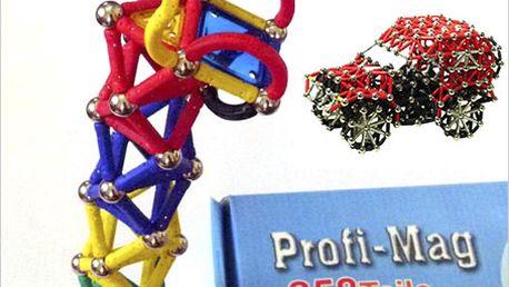 Magnetická stavebnice Profi-Mag! Svět neomezených možností pro děti.