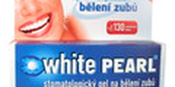 White Pearl - Souprava pro bělení zubů. Posiluje zubní sklovinu a aktivně ji chrání.