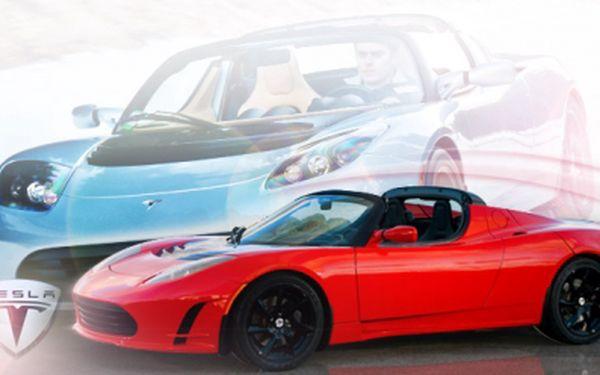 Nejrychlejší ELEKTROMOBIL světa TESLA ROADSTER! Rychlejší start než Ferrari i Lamborghini! Získejte jízdu snů jen za 999 Kč! Ke každým 2 ks voucherů získáte 1 lístek na Evropský veletrh/ Autosalon ZDARMA! SLEVA 50%!